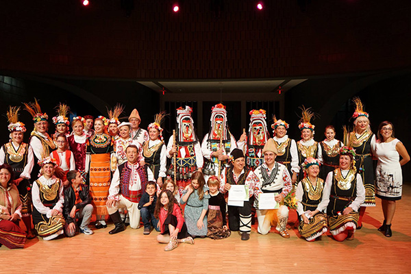 Bartok Folk Dancers